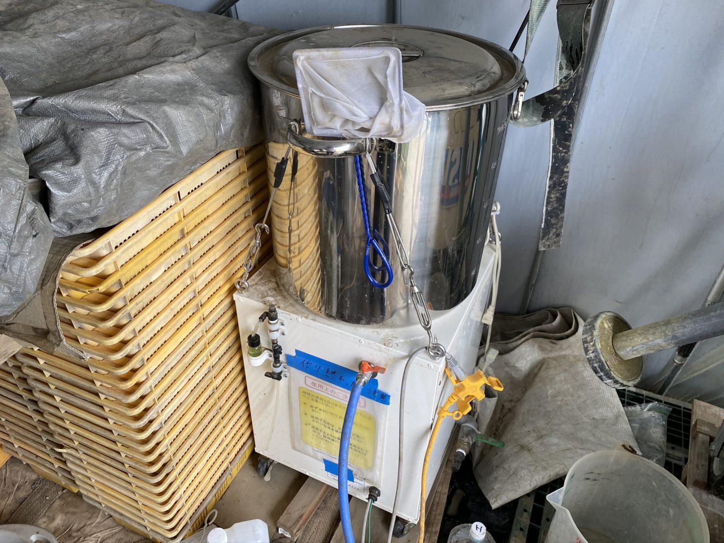 導入事例:根活&ナノバブル水製造装置(イメージ)