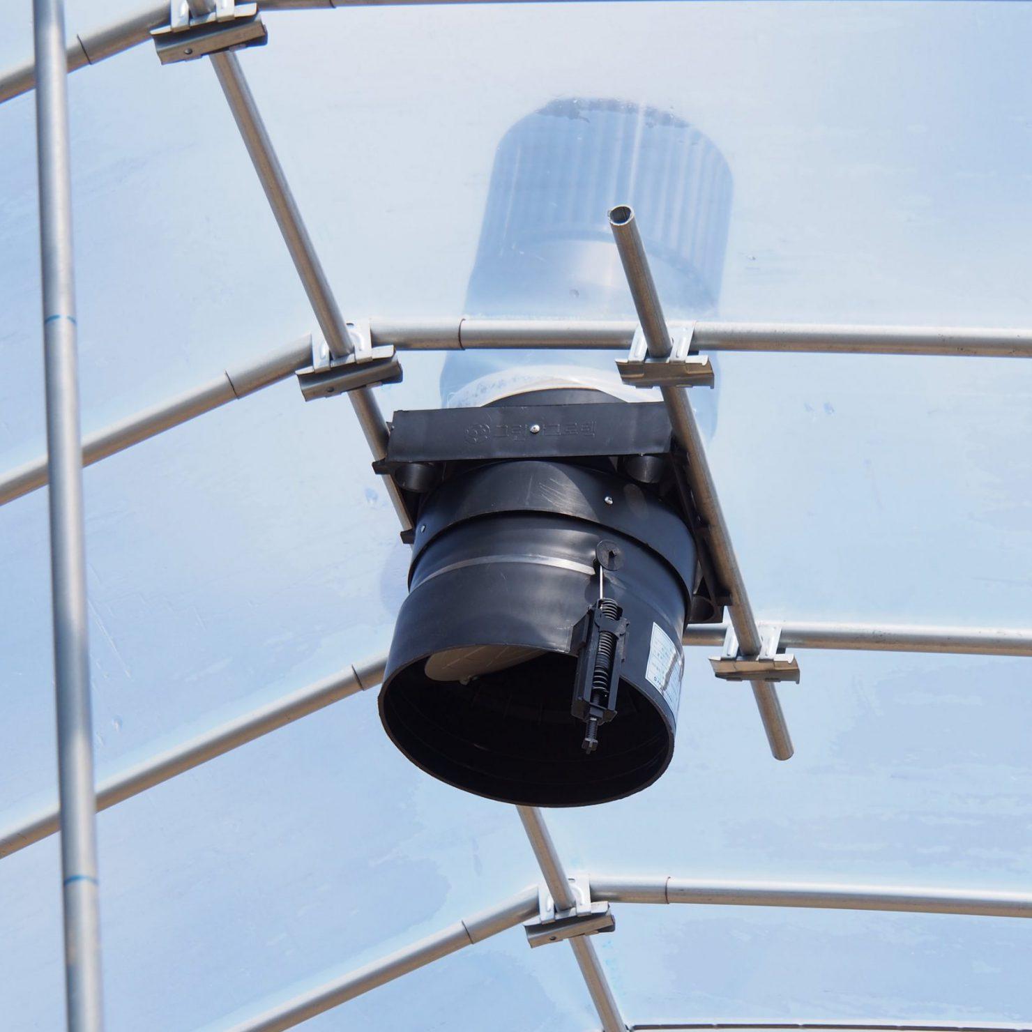 ビニールハウス栽培におすすめの換気扇「空動扇」の特徴とメリット